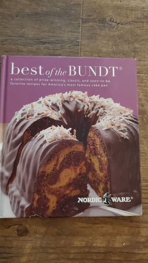 Best of the Bundt cookbook, Nordic Ware for Sale in Madison Heights, VA