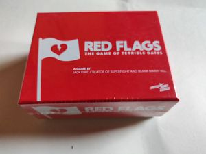 Red Flags adult board game - Game of terrible dates NEW for Sale in San Diego, CA