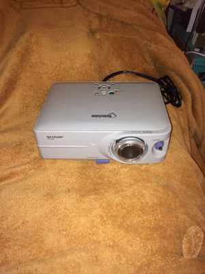 SHARP LCD Projector w/ high quality lens! for Sale in Washington, DC