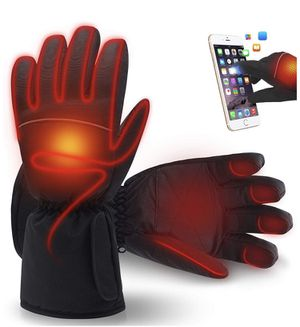 Brand new Heated Gloves, Unisex Battery Heated Glove Touchscreen Warm Snow Mittens for Ski, Cycling, Riding, Hunting, Fishing, Outdoor Camping (Hand- for Sale in Pomona, CA