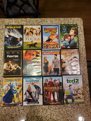 Various DVD Movies for Sale in Mesa, AZ