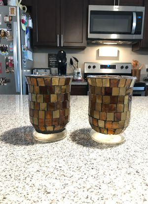 Decorative candle holder or vase for Sale in Kissimmee, FL