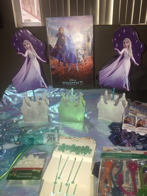 ❄️❄️FROZEN 2❄️❄️Party Decor for Sale in El Cajon, CA