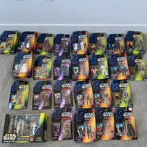 37 Star Wars The Power Of The Force Action Figures for Sale in Tempe, AZ
