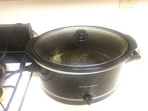 HamIlton beach crock pot for Sale in Silver Spring, MD