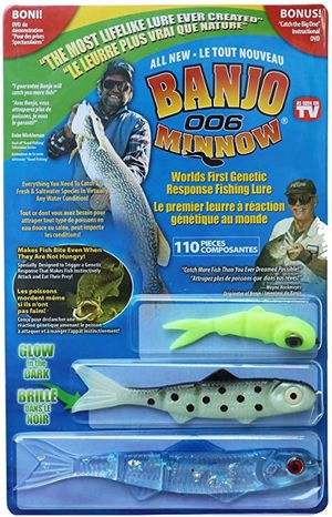 New Banjo Minnow 006. 110 Piece Fishing System for Sale in Chino Hills, CA
