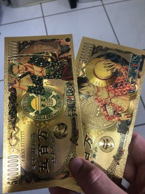 One Piece Anime Gold Cards for Sale in West Palm Beach, FL