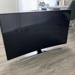55 Inch Samsung 4K HDR Curved Smart TV for Sale in Orlando, FL