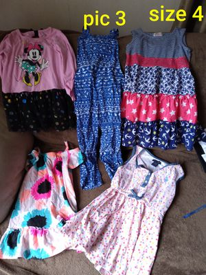 Toddler girls clothing size 4 for Sale in Cumberland, RI