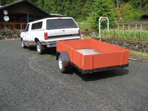 Excellent 1995 Ford V8 With 1 Ton Trailer for Sale in Ashford, WA