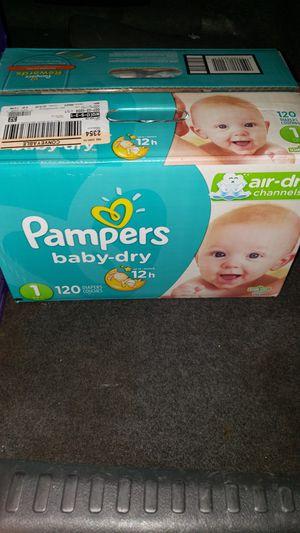 Diapers size 1 for Sale in Phoenix, AZ