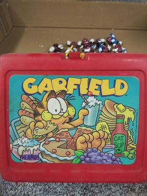 Garfield lunch box for Sale in Clinton Township, MI