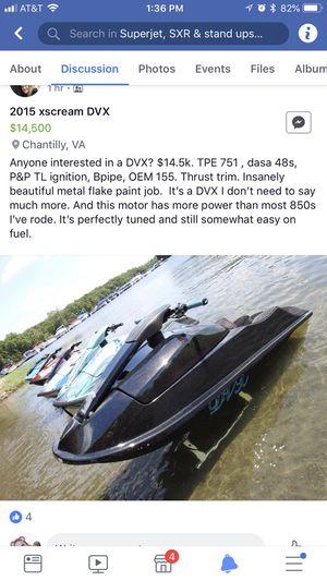 2015 xscream DVX for Sale in Manassas, VA