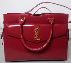 YSL Uptown Medium Tote in Shiny Smooth Leather for Sale in Los Angeles, CA