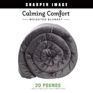 """BRAND NEW - Calming Comfort Weighted Blanket by Sharper Image-Heavy Blanket 20 lb. 50""""x75"""" for Sale in Mesa, AZ"""