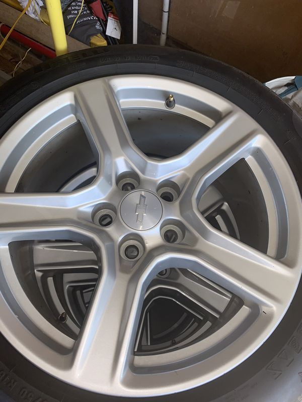 2018 Chevy Camaro STOCK WHEELS/TIRES $750 OBO