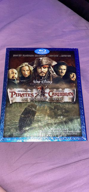 Pirates of the Caribbean 2 disc BluRay DVD At World's End for Sale in Bellmore, NY