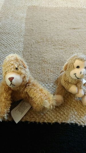 Bear and monkey small stuffed toy for Sale in Lodi, CA