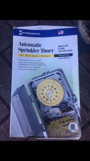 Automatic Sprinkler Timer for Sale in Orlando, FL