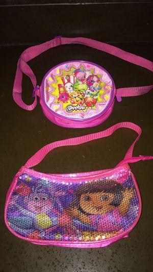 Shopkins and Dora purse for Sale in Sunnyvale, CA
