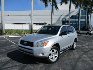2008 TOYOTA RAV4 Super Clean, great gas mileage, 4 cylinder, power windows, power locks, ABS system, tilt wheel, climate control, auxiliary input wit for Sale in Pompano Beach, FL