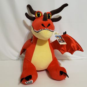 """How To Train Your Dragon """"Hookfang"""" Build-A-Bear Stuffed Animal 17"""" for Sale in Brookfield, IL"""