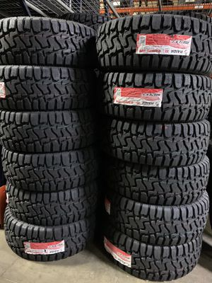 HAIDA TIRES RUGGED TERRAIN 3.3.1.2.5.0.1.7. ONLY $39 DOWN PAYMENT AND 3 MONTHS FREE OF INTEREST TO PAY OFF !! for Sale in Garner, NC