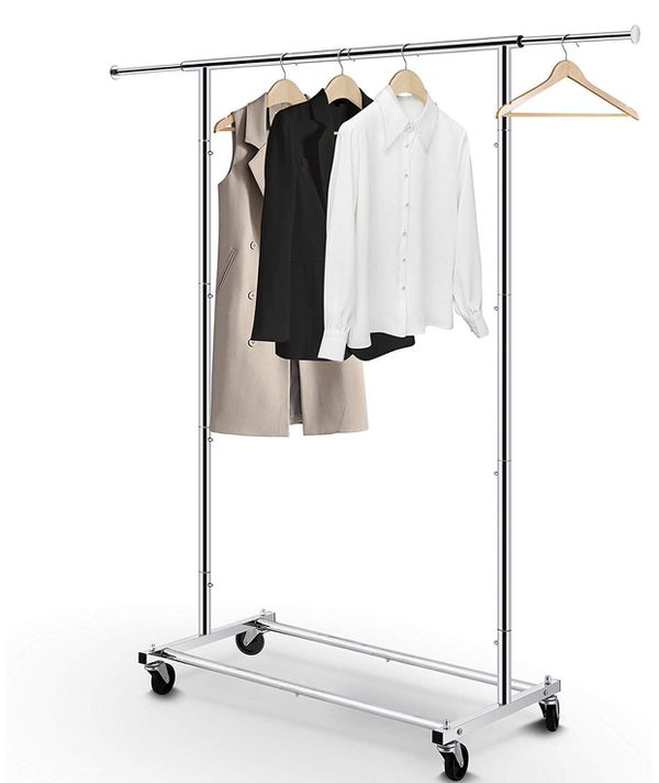 Clothing Rack - Rolling Clothes Organizer