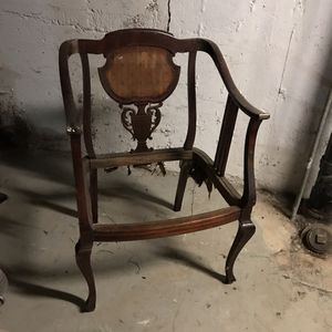 DIY antique chair frame for Sale in Portland, OR