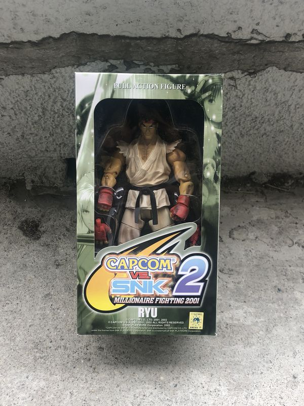 CapCom vs. SNK 2 action figure Ryu READ DESCRIPTION