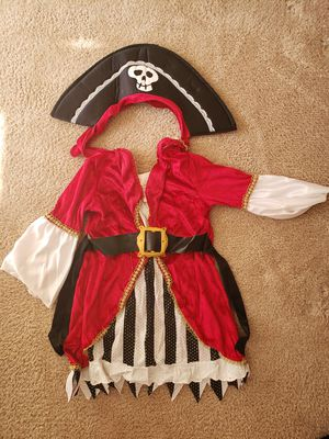 Princess Pirate Costume 2T for Sale in Princeton, NJ