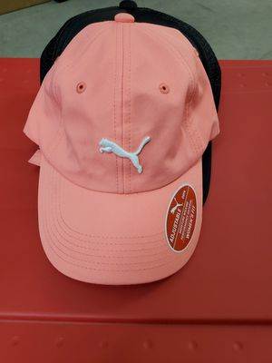 Women's Puma Womens Coral Pink Strapback Hat NWOT for Sale in Tacoma, WA