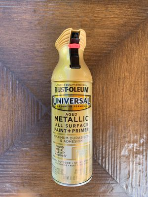 Pack of 6 Rust-Oleum Universal Aged Metallic All Surface Paint and Primer for Sale in North Royalton, OH