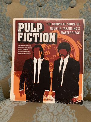Pulp fiction coffee table book for Sale in Los Angeles, CA