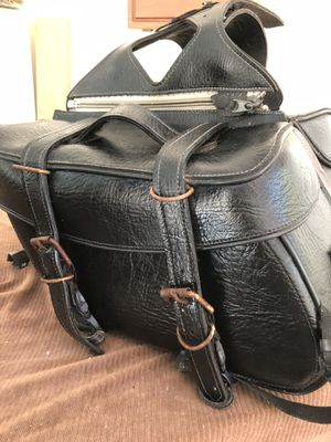 Harley motorcycle Side bags-used for Sale in Orlando, FL