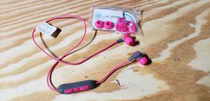 bluetooth earbud headphones (pink) for Sale in Saint Paul, MN
