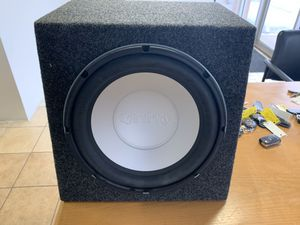 "12"" infinity kappa perfect 12.1 subwoofer in box for Sale in Downers Grove, IL"