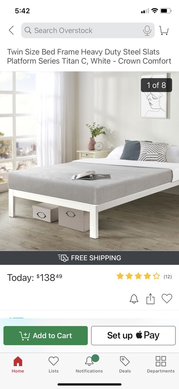 Steel Twin bed frame