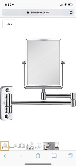 3X Magnifying Wall Mounted Vanity Makeup Mirror for Sale in Lincolnwood, IL