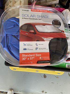 Car and Truck Solar Shade sets - Brand New for Sale in Clearwater, FL
