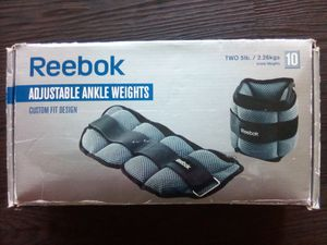 Reebok Adjustable Ankle Weights (10 Pound Pair) for Sale for Sale in San Jose, CA