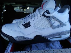 Nike Air Jordan Retro 4 White Cement Size 13 for Sale in Falls Church, VA