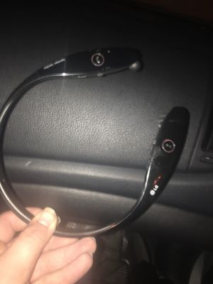 LG Bluetooth wireless headphones for Sale in Temecula, CA