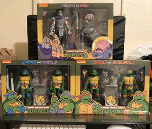 Neca Teenage Mutant Ninja Turtles two packs target exclusive for Sale in Vernon, CA