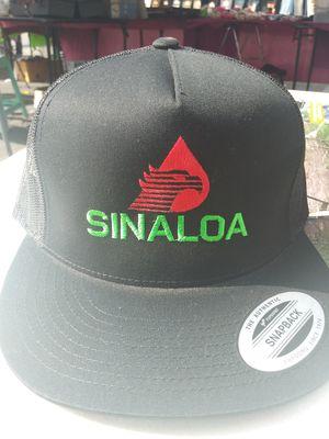 Snapback hats pemex style con estado de sinaloa for Sale in Lynwood, CA