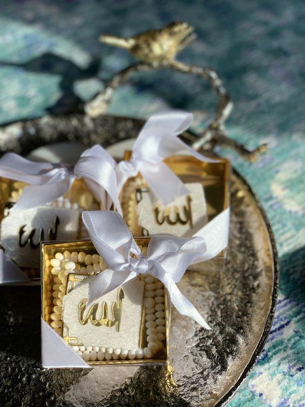 Mini Velvet Quran (Islamic Favor Box)