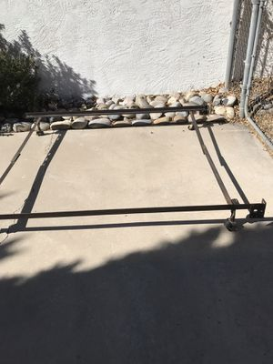Heavy duty steel bedframe for Sale in Albuquerque, NM