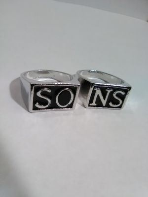 Sons of Anarchy Ring Set Size 11 for Sale in Columbus, OH