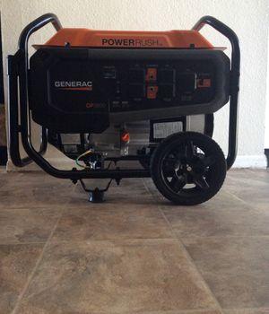 GENERAC GP3600 - 3600 WATT - GAS POWERED GENERATOR 50CSA for Sale in Peoria, AZ