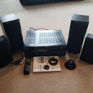 Onkyo HT-R560 AV Receiver with Speakers for Sale in Manassas, VA